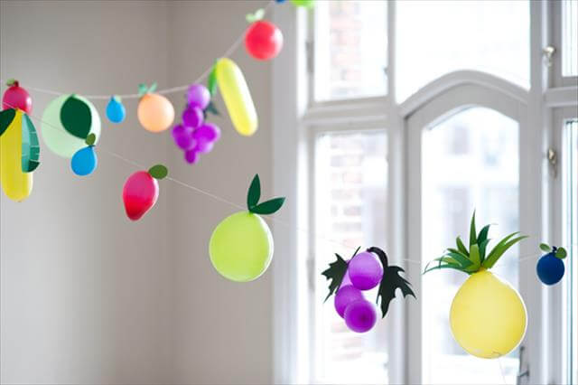 DIY Balloon Decor Pattern