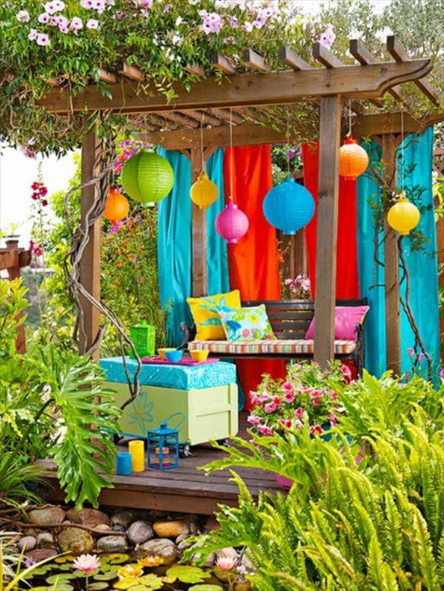Outdoor Garden Decor Idea