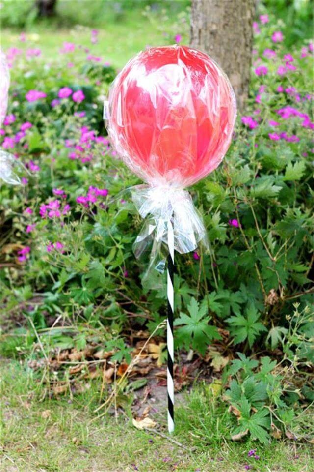 Lolipop Red Balloon