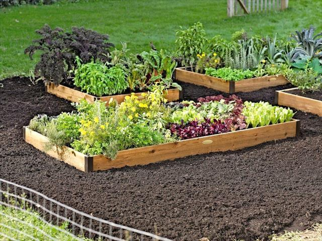 DIY Raisde Bed Garden Idea