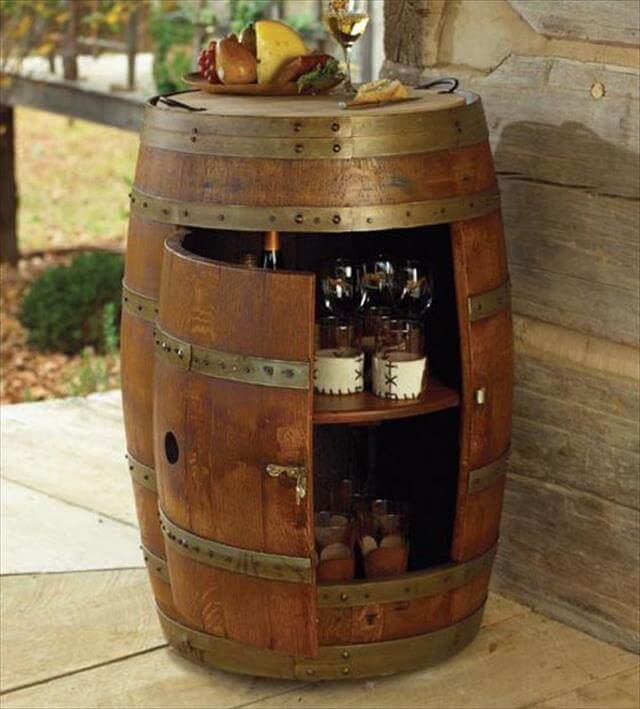 9 Diy Wooden Barrel Projects Diy To Make