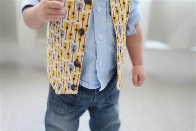 Reversible Baby Vest