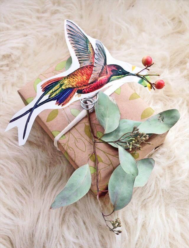 Birds & Greenery