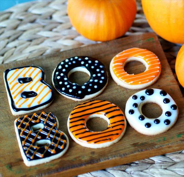 Boo Cookies Idea