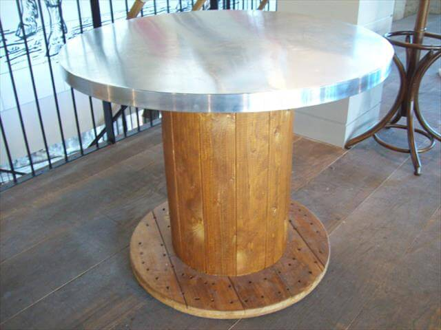 13 diy cable spool table ideas diy to make for Cable reel table