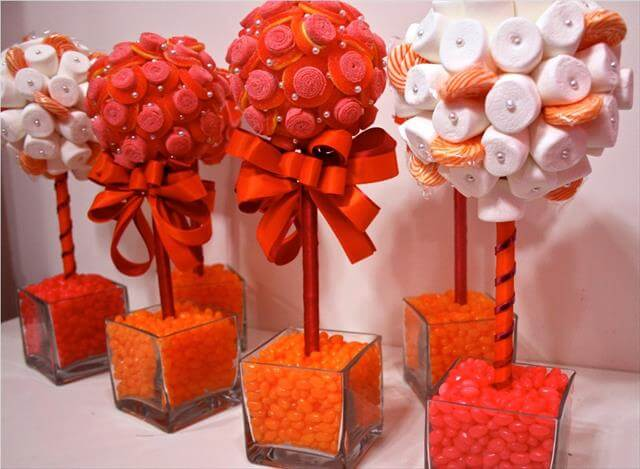 Candy Centerpieces For Sweet