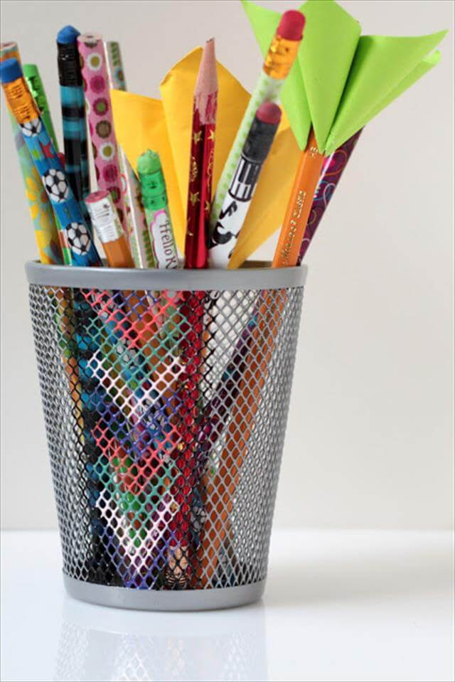 Chevron Pencil Holder