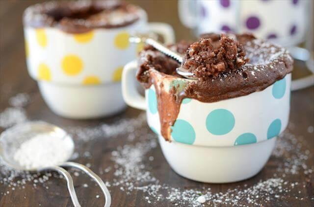 DIY Chokolate Mug Cake