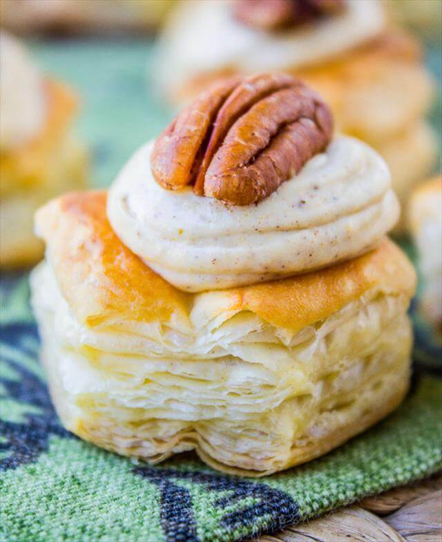 Cream Cheese Pumpkin Puffs