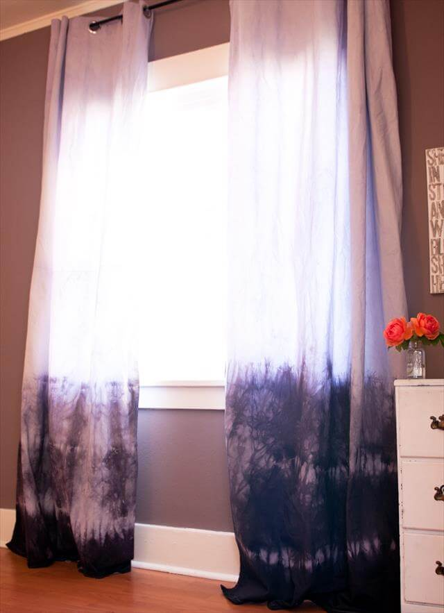 Dipped Curtains
