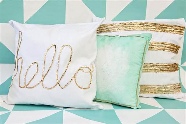 10 diy ideas decorative throw pillows & cases | diy to make Diy Decorative Throw Pillows