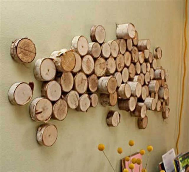Wood log look beautiful anywhere