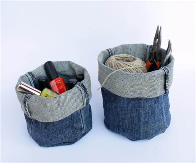 Denim Buckets