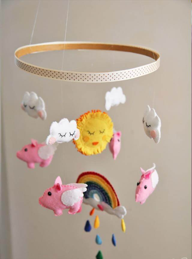 10 diy adorable and stylish baby mobiles diy to make