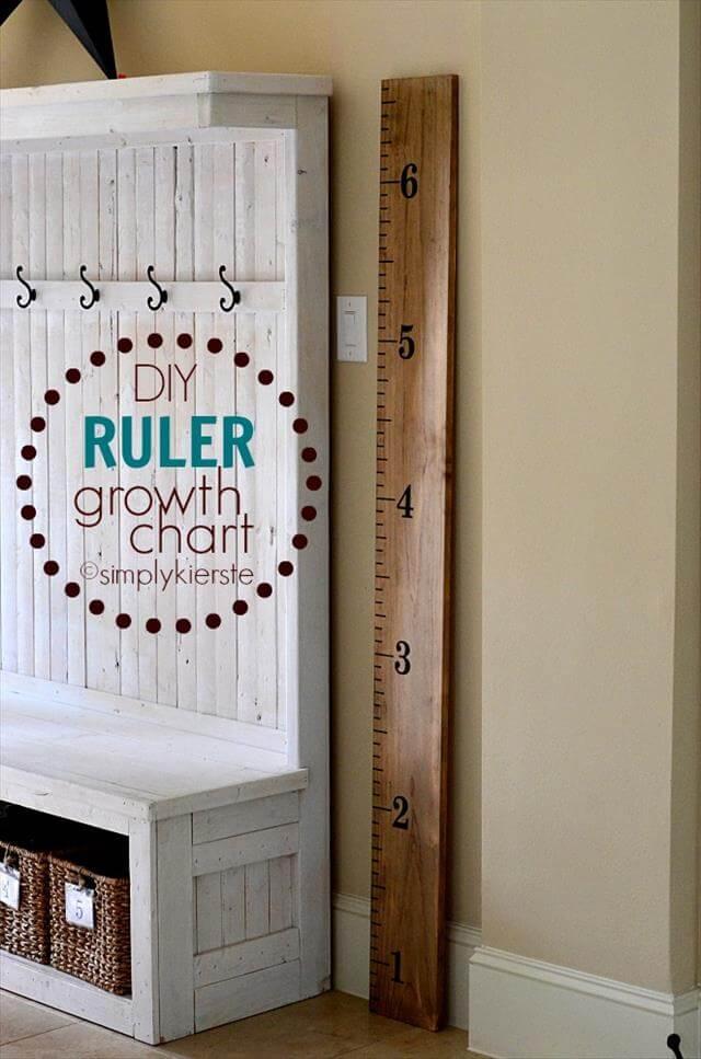 DIY Growth Chart