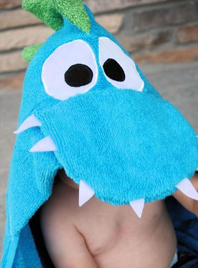DIY Hooded Towel
