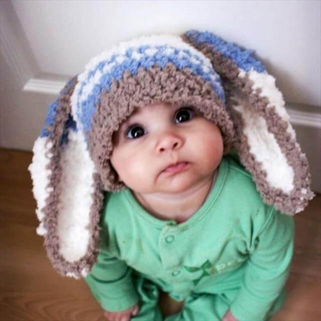 9 Diy Crochet Baby Hats And Pattern Diy To Make