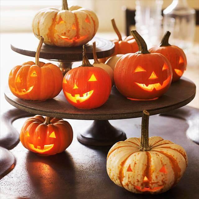 Layered Mini Pumpkins