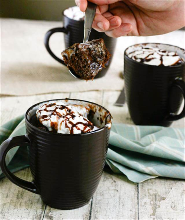 DIY Nutella Mug Cake Idea