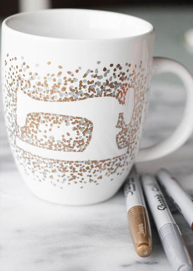 14 sharpie dish and mug diy designs