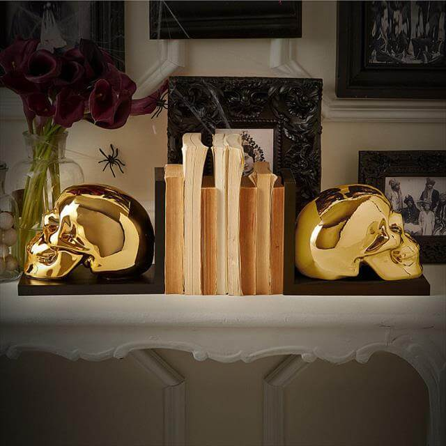 DIY Skull Bookends Pattern