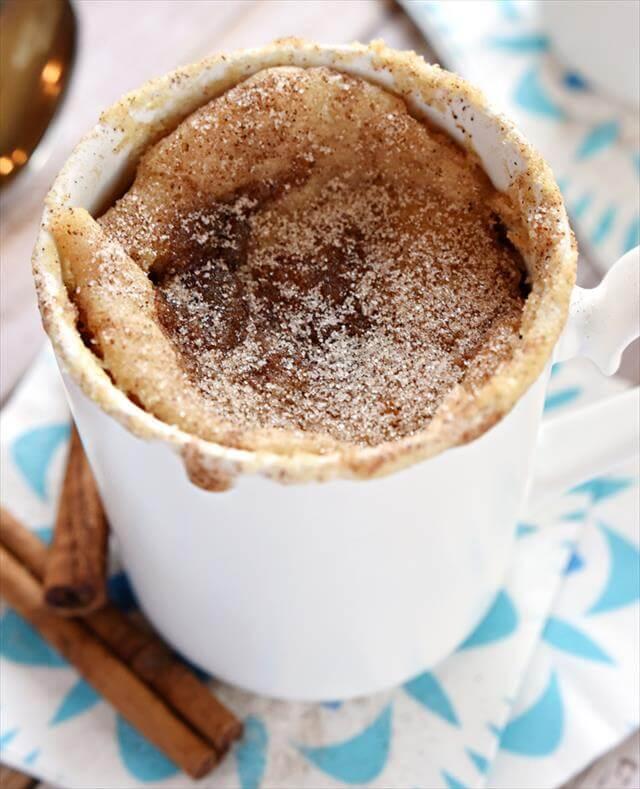 Snickerdoodle Mug Cake Idea