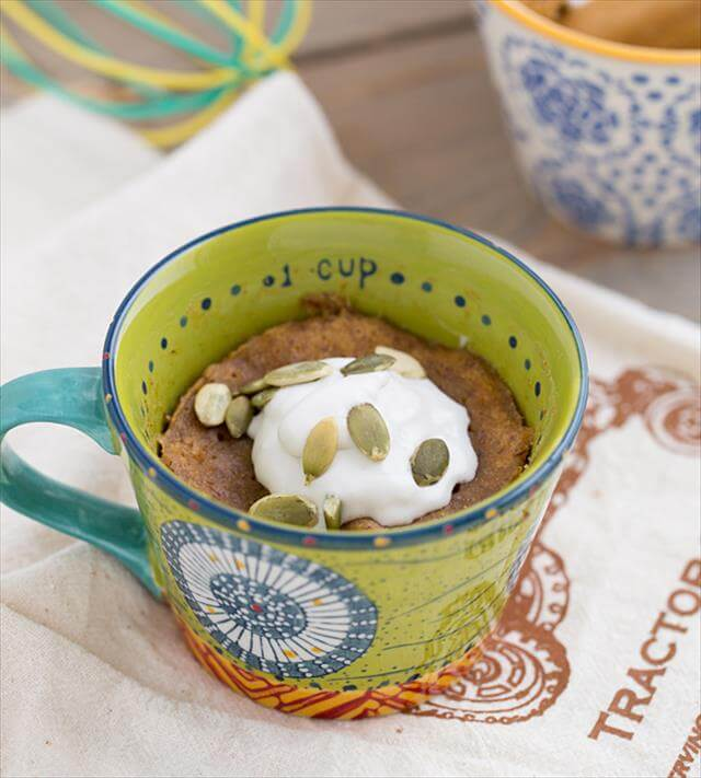 DIY Sweet Potato Mug Cake