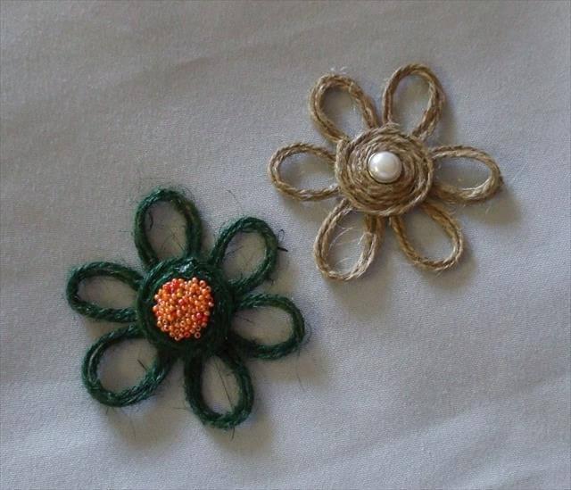 Twine Flowers.