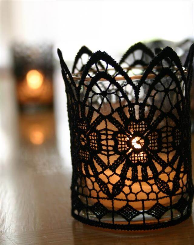 Lace Spider Web Idea