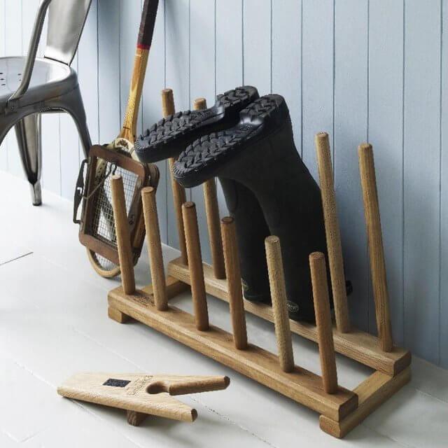 6 Diy Wooden Boot Rack Boot Organizer