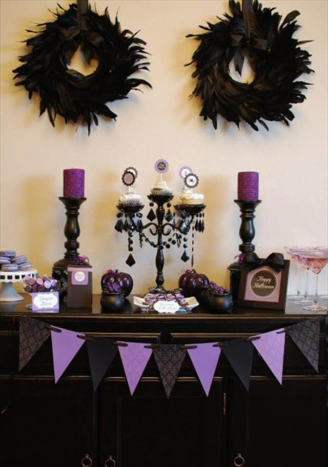 13 diy halloween decor ideas diy to make Diy halloween party decorations