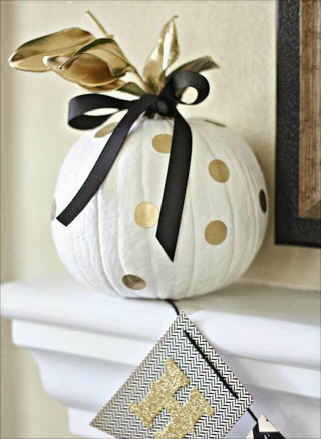 Pumpkin Decor Idea In Different Colors