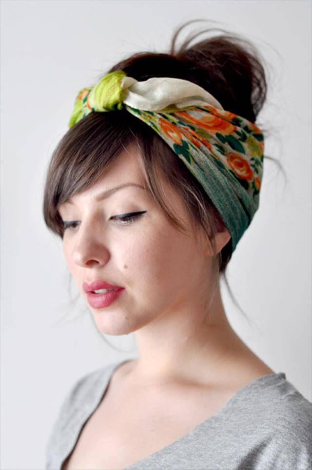 Wear it as a head scarf