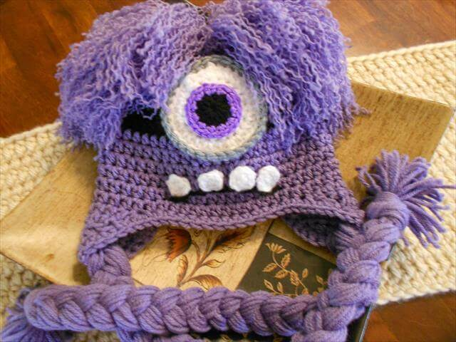 Crochet Baby Minion Hat Pattern : 9 DIY Crochet Baby Hats And Pattern DIY to Make