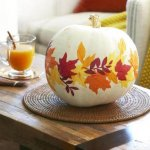 DIY Beautiful Paper Leaf Pumpkin