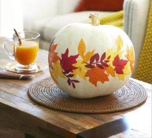 DIY Beautiful Paper Leaf Pumpkin