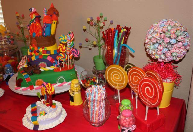 11 Diy Candy Party Decor Centerpiece Ideas