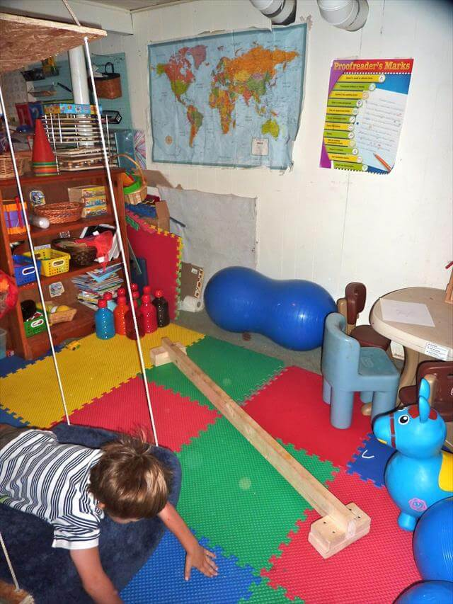 Diy indoor sensory playroom to make