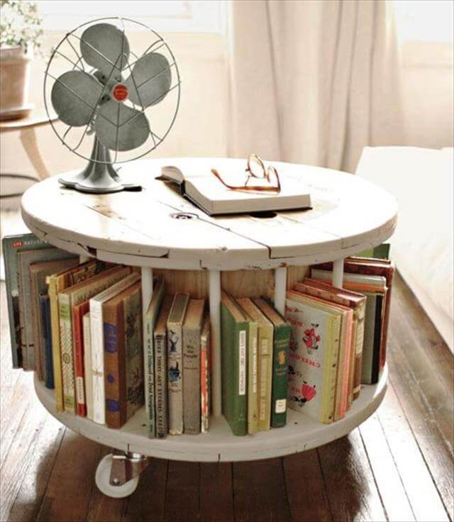 13 DIY Cable Spool Table & Ideas