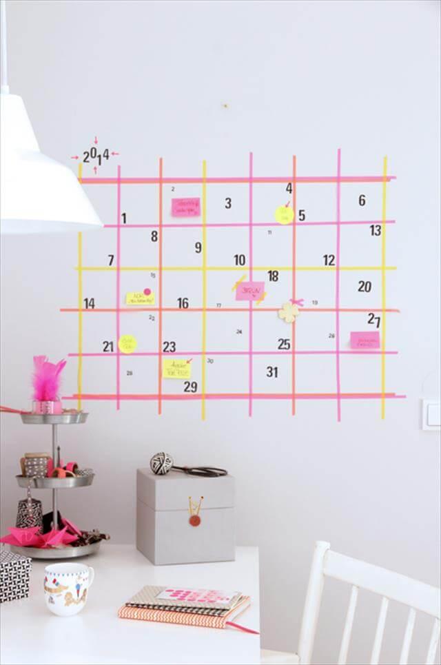 Make A Wall Calendar