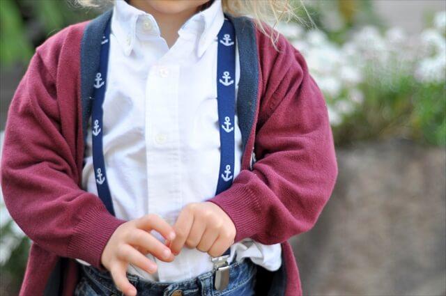 Baby Nautical Suspenders