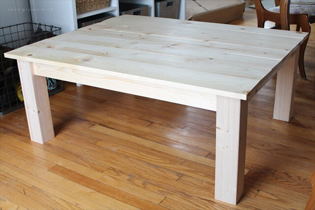 13 DIY Coffee Table Ideas To Make