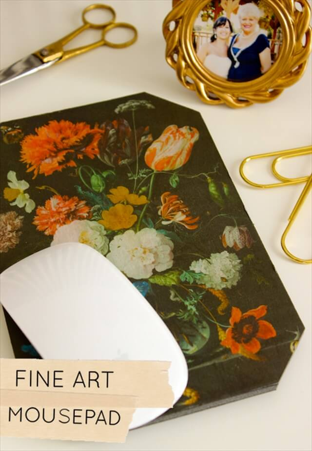 DIY Fine Art Mousepad