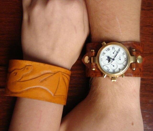 DIY Watch And Bracelet