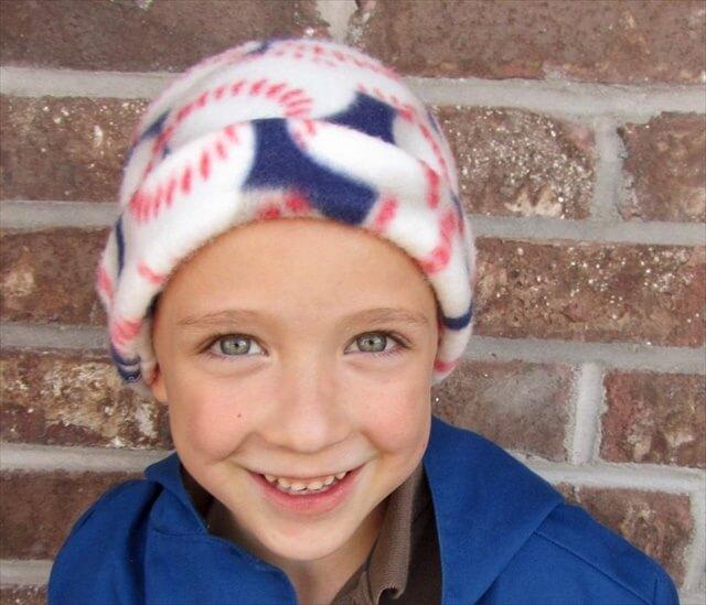 DIY Winter Fleece Hat