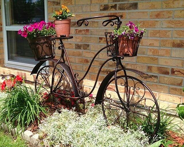 DIY Bicycle Planter