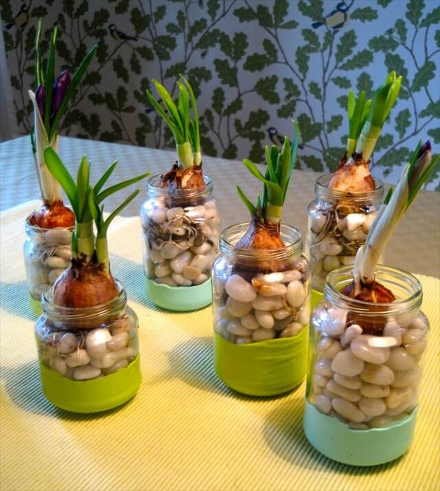 Crafts With Old Baby Food Jars