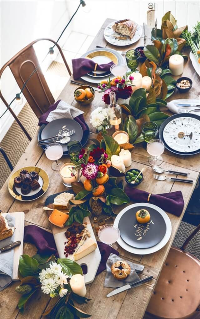 Colorful Eclectic Centerpiece