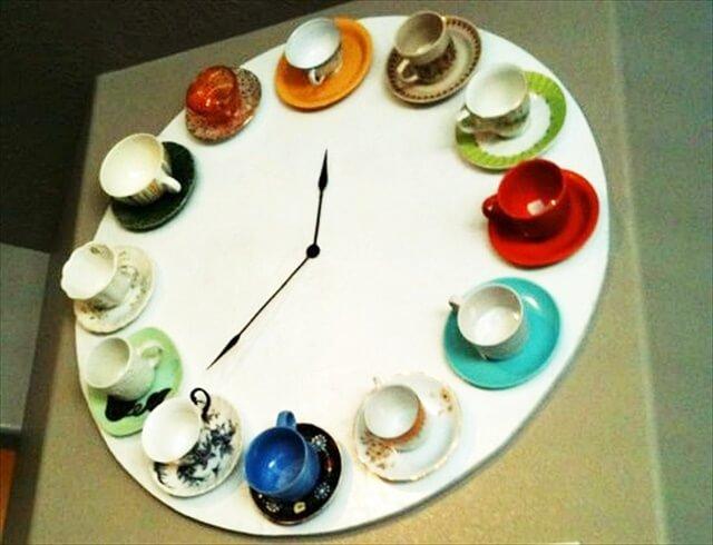 cup clock