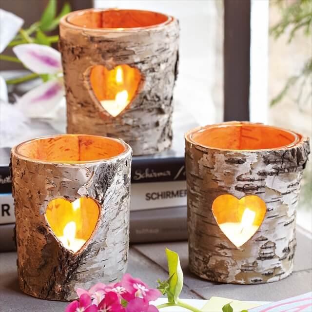 Craft Paper candle holder